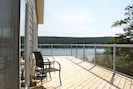 Huge wrap around deck with sun all day.