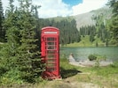 This British phone box is an eclectic addition to The Observatory.