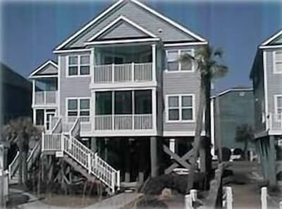 House from Ocean