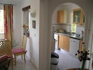 Kitchen/Dining area leading to Terrace