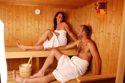 In-house sauna
