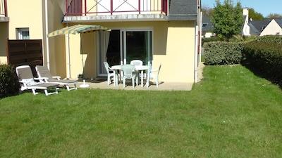 Vue terrasse et jardin