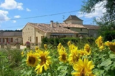 Thenac, Dordogne, France