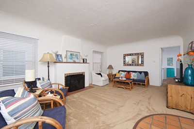 A comfortable living room
