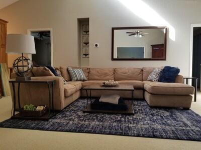 Spacious Family Room on Main