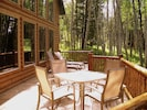 Enjoy your BBQ dinner while listening to the sound of the quaking aspens...