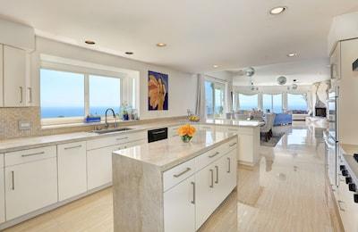 Gourmet Kitchen with Ocean Views