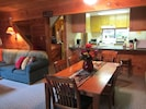 Kitchen is open to the rest of the living area for easy socializing