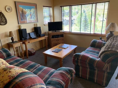 Living area spacious comfortable seating