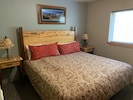 King downstairs  custom made bedroom furniture locally done