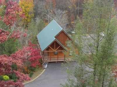 Cabin Aerial View