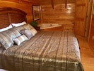 Master Bed Room with King Bed and Jacuzzi Tub
