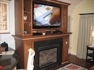 Great Room - Fireplace & HD TV