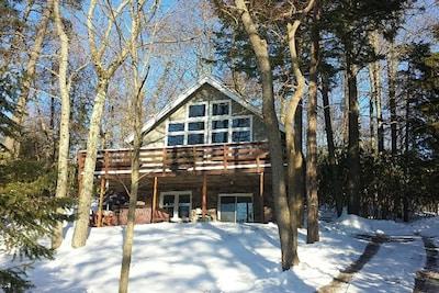 Winter at The Lake Escape