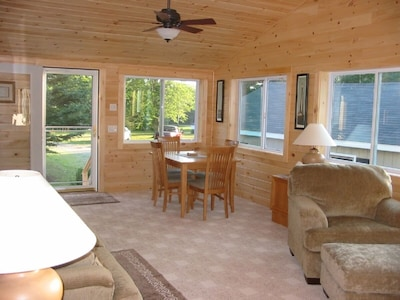 Wonderful Sunroom Addition-Perfect Place for Dining, Reading and Relaxing!