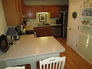 Fully equipped kitchen and pantry