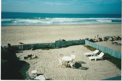 The Private Beach!