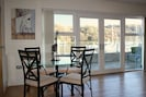 Serenity's Dining Area with stunning views of the River Dart and Steam Railway.