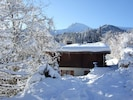 Chalet Heliodore in winter