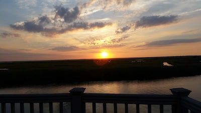 Enjoy the magnificent sunsets from your deck!