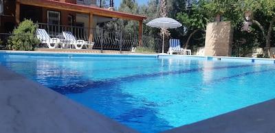 Pool shower