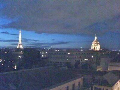 Vue de nuit sur Paris