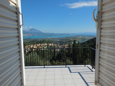 This is the view you will see from the double bedroom when you awaken!