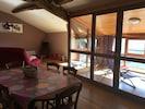 salle à manger, veranda