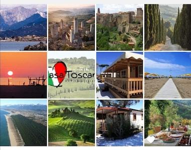 Verzameling foto's Mobile Homes, omgeving en Toscane