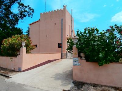 Eingang zur Casa rosa maria