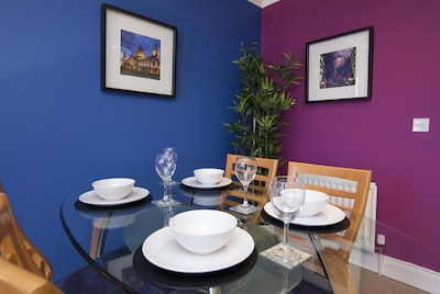 Dining area beside kitchen