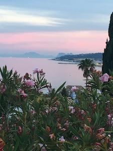 View from Villa Danica upper terrace