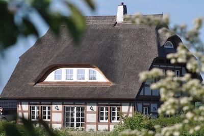 Ein Cottage,wie man es auf der Insel Rügen erwartet, inclusive Sauna