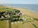 Am Rande der kleinen Siedlung Stufhusen liegt das Seegut, direkt am Wattenmeer.