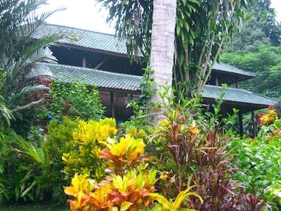"""Front view of """"Rumah Kartika Dharma"""""""