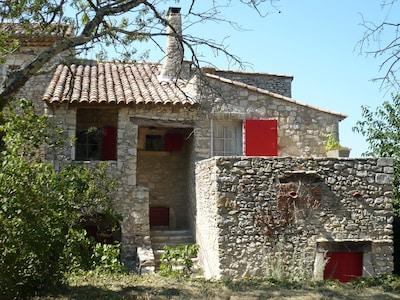 Lussan, Gard, France