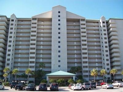Long Beach Resort in the very center of Panama City Beach.