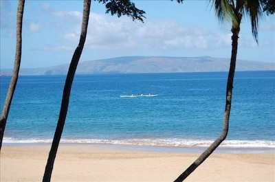 The breathtaking view from our lanai...