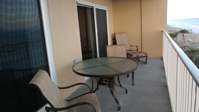 Balcony with premium furniture