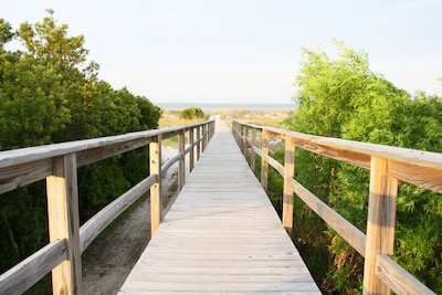Your boardwalk to the beach.