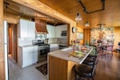 Kitchen w/ Counter top seating for 3