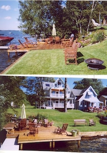 Enjoy the sun, read a book, have dinner at the lake deck