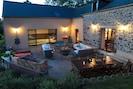 La terrasse, un lieu de vie idéal du matin jusques au soir