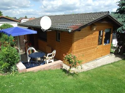Bad Harzburg - Kleines aber feines günstiges Ferienhaus Walnuss Hütte