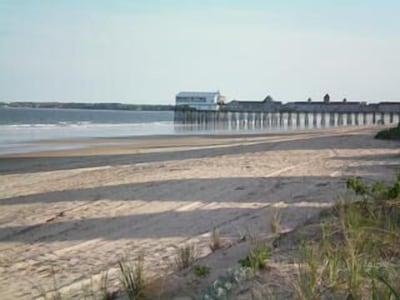 Beach can be access through side road