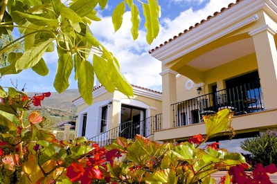 Casa Albero from the gardens.