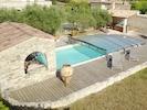 L'espace piscine, spa, aquabike