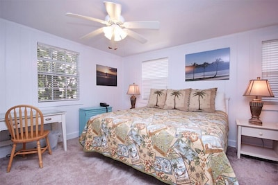Master Bedroom King size bed new in 2013