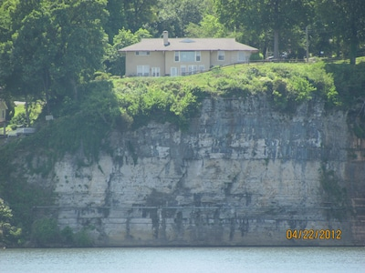View of Muscle Shoals Music House from McFarland Park.