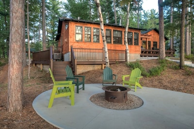 Lakeside of Cabin Cabin Firepit